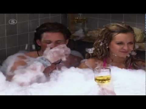 Big Brother 2006 - Anton och Carina i jacuzzin