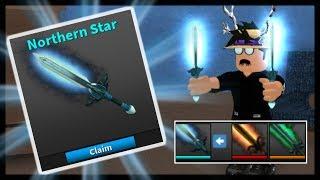 BASTELN SIE DAS NEUE NORTHERN STAR DREAM KNIFE! (Roblox-Attentäter)
