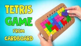 Tetris Game You Can Make Yourself!