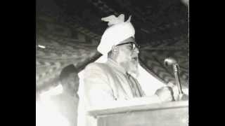 Gebete von Hazrat Khalifat-ul-Massih III (rh) für die Teilnehmer der Jalsa Salana.
