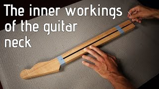What is a truss rod? And how does it work? A look inside the guitar neck.