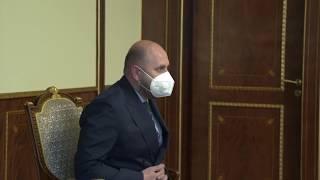 Արմեն Սարգսյանը հանդիպել է ԿԲ նախագահի հետ