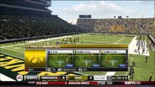 NCAA 13 YouTube Dynasty Live