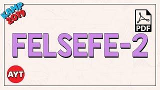 Felsefe - 2  AYT
