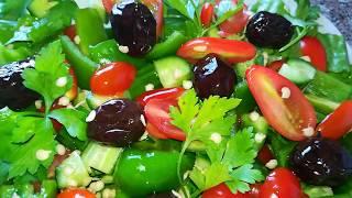Салат без майонеза   Обалденный Вкусный Красивый Салат