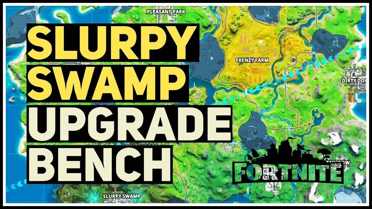 Slurpy Swamp Weapon Upgrade Bench Fortnite