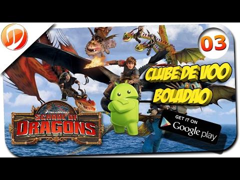 School of Dragons Android #03 - Fireball Frenzy e Clube de Voo - Escola de dragões