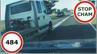 Stop Cham #484 - Niebezpieczne i chamskie sytuacje na drogach