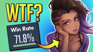 Sombra is the BEST Carry Hero! (If You Play Like This!)   Overwatch Guide