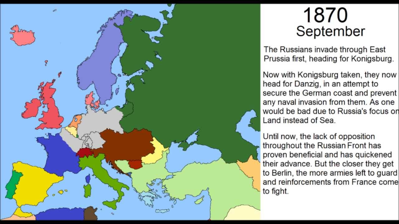 Alternate History Germanys Late Part YouTube - Youtube germany map