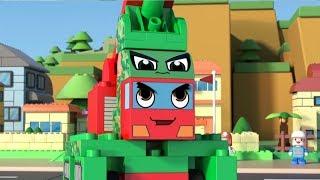 ЧиЧиЛэнд - Танк Джуниор и Я - чемпион - 1 сезон | Мультфильм для детей | Машины из конструктора