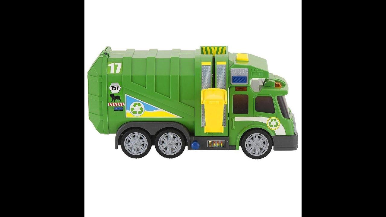 Trash Can Toys R Us : Fast lane action wheels camión de basura verde juguete