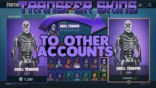*NEW* | FORTNITE | HOW TO TRANSFER EVERY SKIN TO ANOTHER ACCOUNT FREE | WORKS ON PS4/XBOX/PC/MOBILE