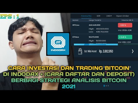 cara trading bitcoin di indodax)
