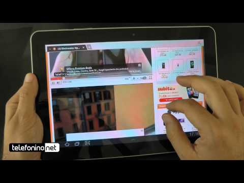 Samsung Galaxy Tab 10.1 videoreview da Telefonino.net