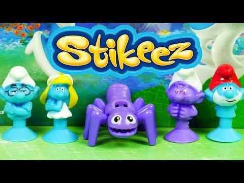 Stikeez Smerfy | Fioletowy Smerf | Bajki dla dzieci