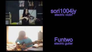 Canon rock guitar and violin