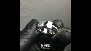 G_RADE Jewelry 지레이드 쥬얼리 [Small Double Logo color Ring]