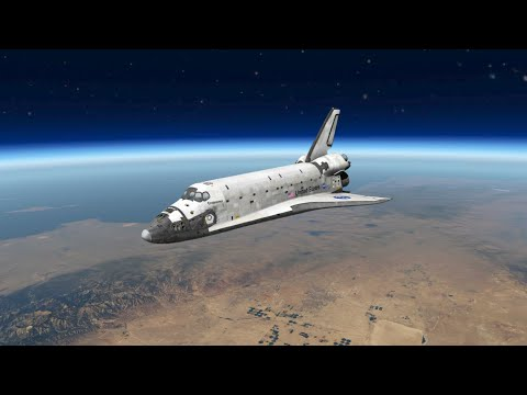 Landing A Space Shuttle (From Space) - The Most Challenging Approach