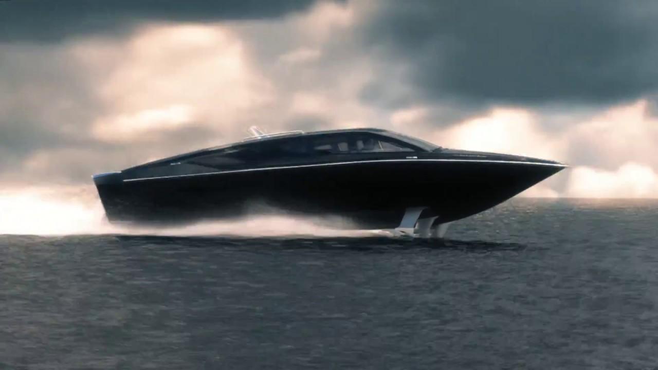 Sagaris - Super High Speed Hydrofoil Motorboat