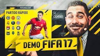 FIFA 17 DEMO   COMPARATIVA SIMULTANEA PC , XBOX ONE y PS4