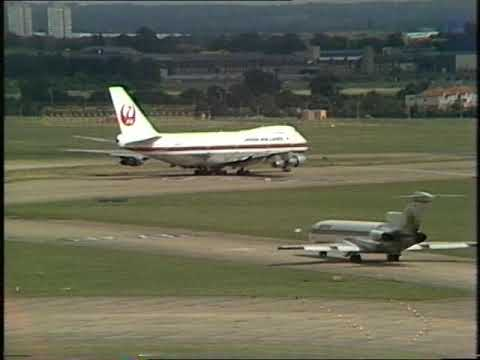 Vintage Heathrow Airport | Aviation | A Place Called...| 1975