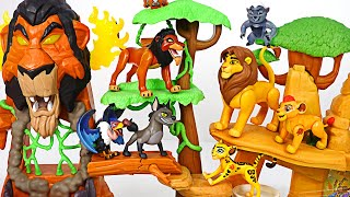 Defeat the Scar! Lion King Simba and Lion Guard Kion! Go! | DuDuPopTOY