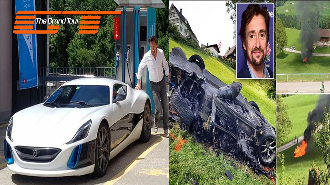 Richard Hammond Car Crash Hillclimb In Hemberg 2017 Youtube
