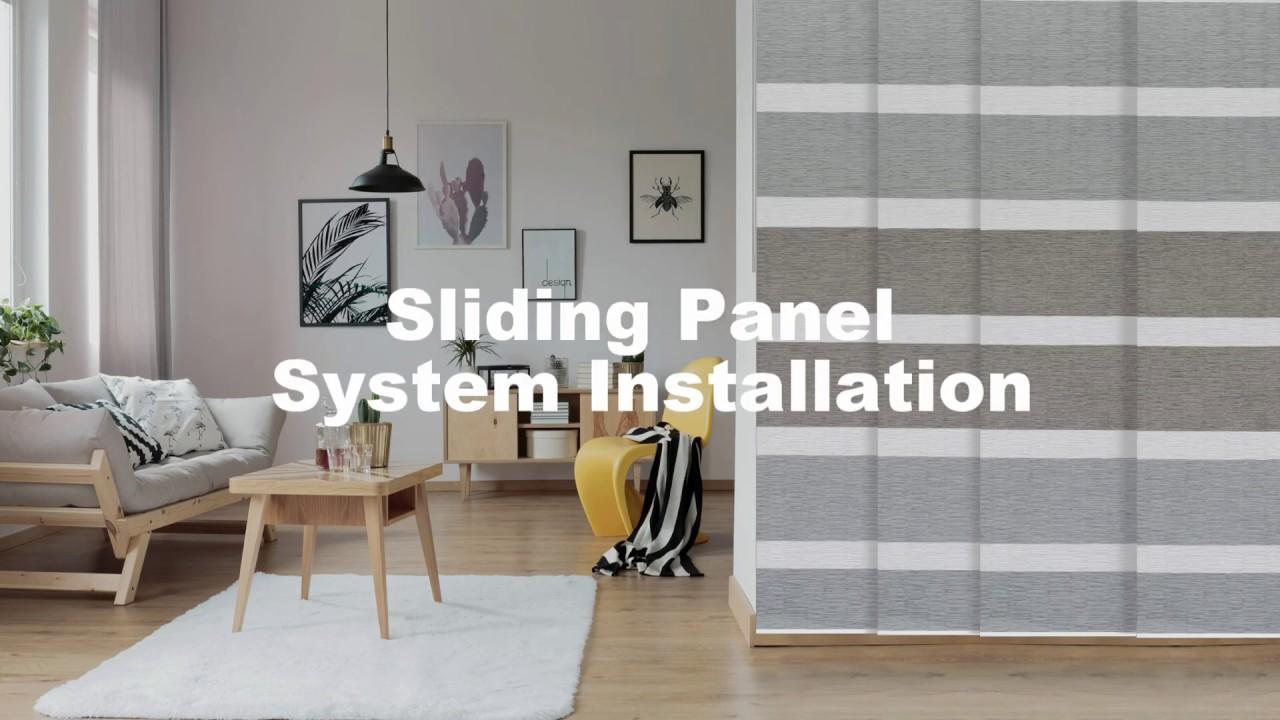 Sliding Panel System  Installation (2019)