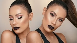 VAMPY NYE MAKEUP LOOK | DESI PERKINS