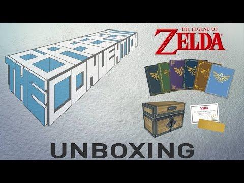 Legend Of Zelda Prima Official Game Guide Box Set Unboxing