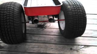 Radio Flyer Hot Rod Wagon
