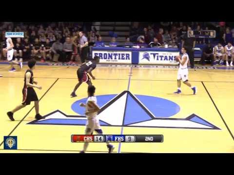 Boys Basketball Centennial at Frontier