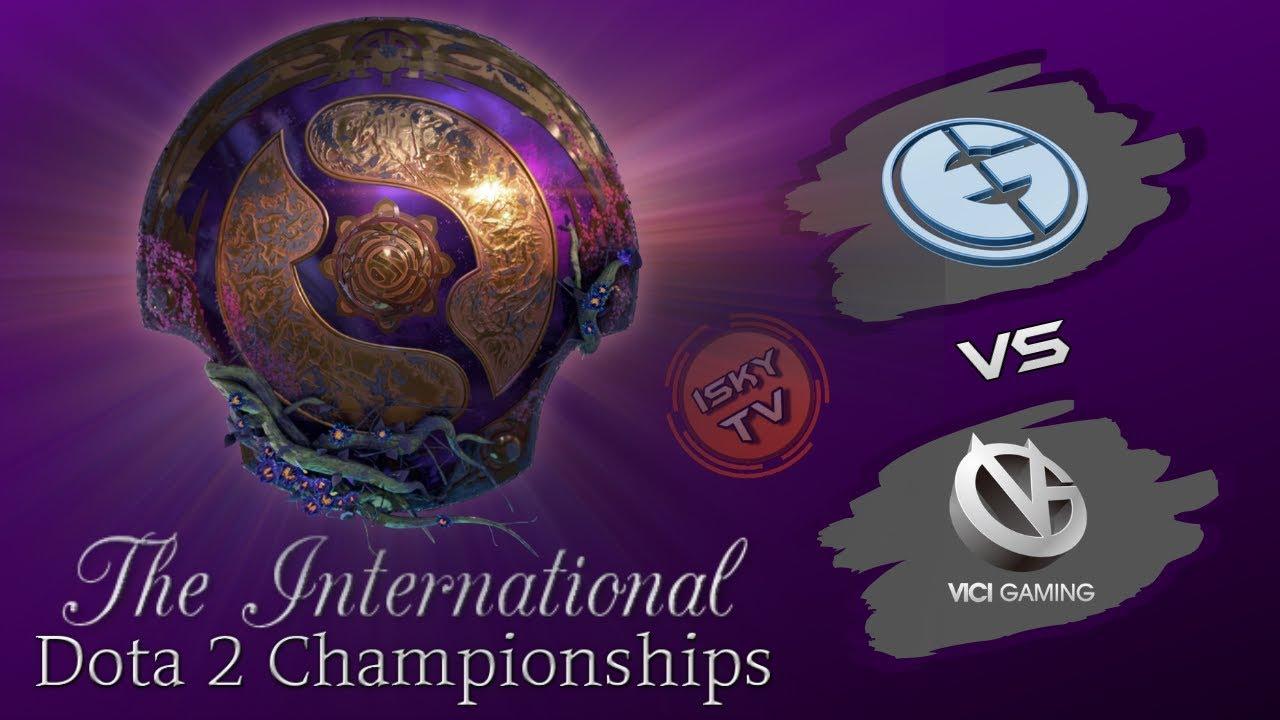 EG vs Vici Gaming / [EN] / Bo2 / The International 2019 / Dota 2 Live / Group Stage