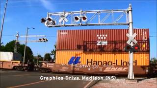 Railroad Crossings of Madison County, AL