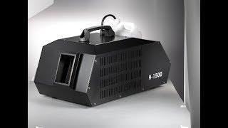 Обзор генератора тумана 1500 с Aliexpress