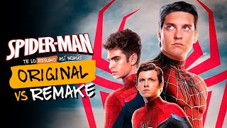 Spiderman (2002) vs Spiderman (2012) vs Spiderman (2017) | #OriginalVsRemake