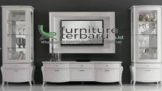 Bufet Tv Minimalis Klasik Cat Duco   Www.furnitureterbaru.co.id   Hp/wa 081326072160