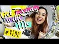 GET READY WITH ME PARA GRAVAR VÍDEOS | VEDA #3 - O Blog da Ka ♥