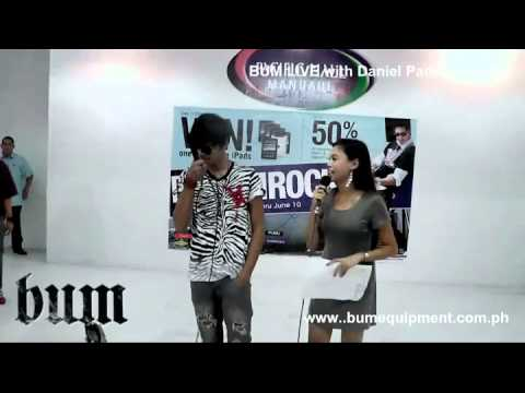 BUM Live with Daniel Padilla at Metro Stores Cebu