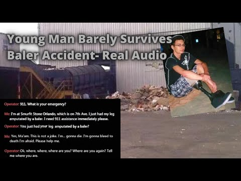 Chilling Real 911 Call- Amputated Foot/ Leg