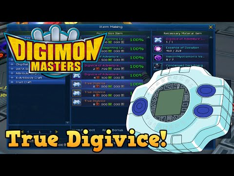 Mein True Digivice! Let's Play Digimon Masters Online #190