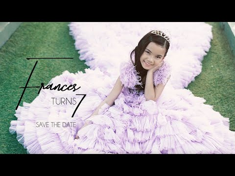 Frances Khloe Ysabel Turns 7 | Pre Birthday Video By Nice Print Photography