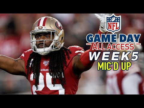 "NFL Week 5 Mic'd Up, ""That was a pick six you batted down!"" 