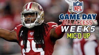 """Download NFL Week 5 Mic'd Up, """"That was a pick six you batted down!"""" 