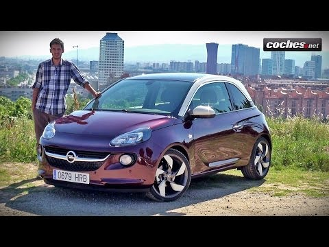 opel adam prueba test review en espa ol. Black Bedroom Furniture Sets. Home Design Ideas