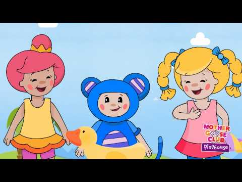 Swimming - Mother Goose Club Rhymes for Kids