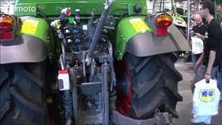 The FENDT 2019 tractors Show Room