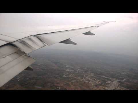 Emirates Boeing 777-300ER Descent, Hold and Landing at Islamabad International Airport