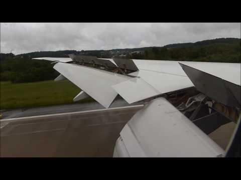 Swiss 777-300ER Nice Landing in Zurich !